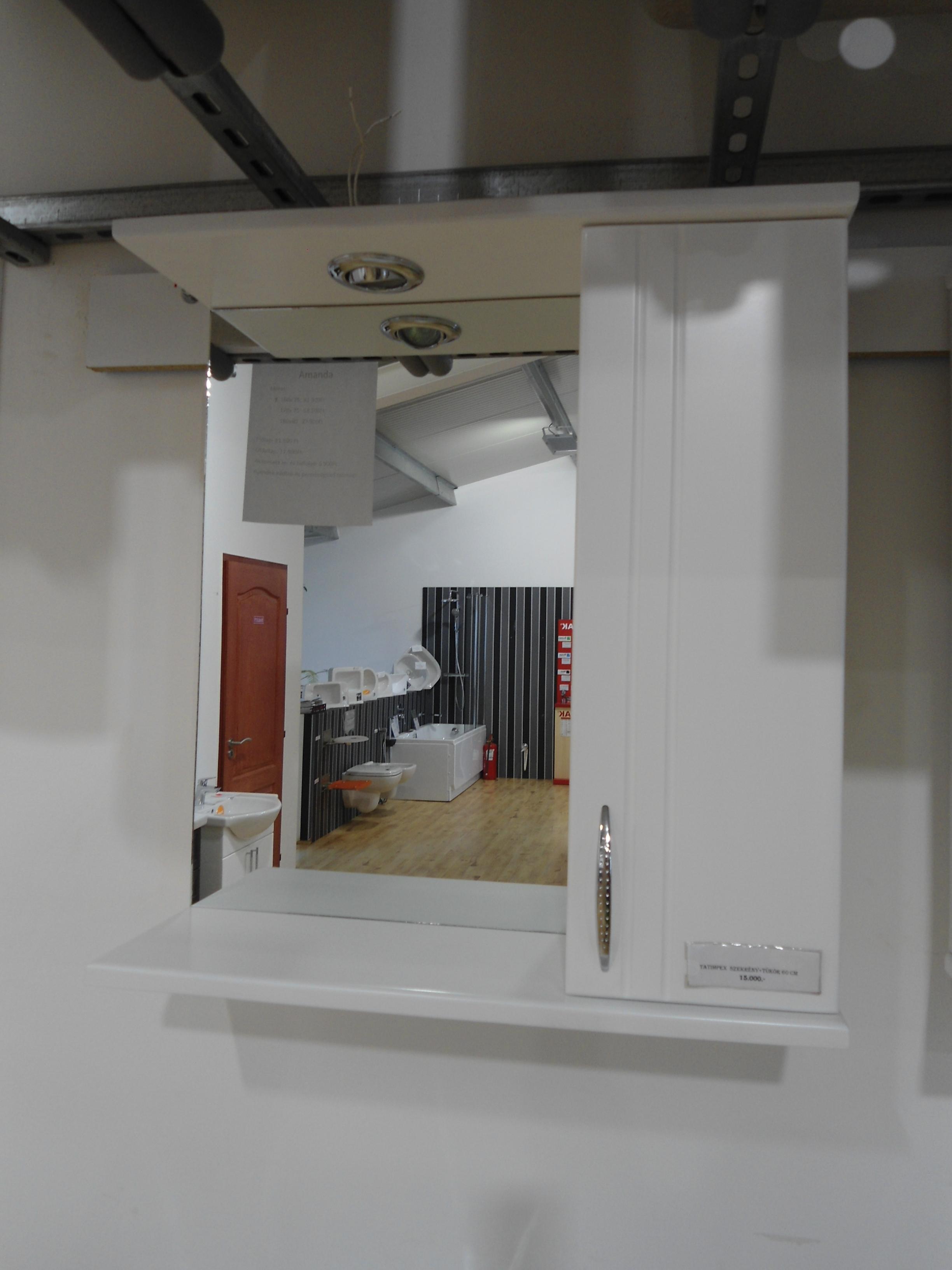 Fürdőszoba szekrény tükörrel, felső 70cm Tatimpex  Complex '95 Bt.