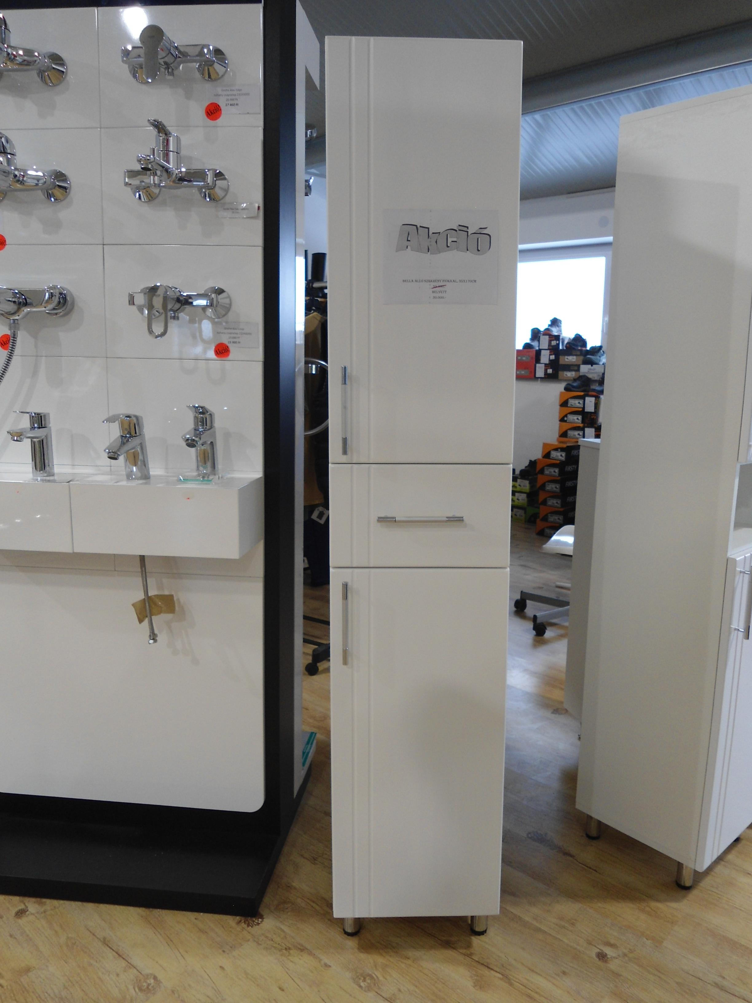 Fürdőszoba szekrény, álló-fiókos 35x170cm, Tatimpex-Bella ...