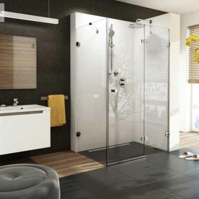 Zuhany falak,- ajtók