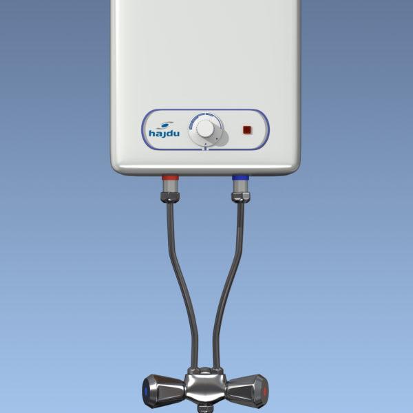 Vízmelegítők csatlakoztatása