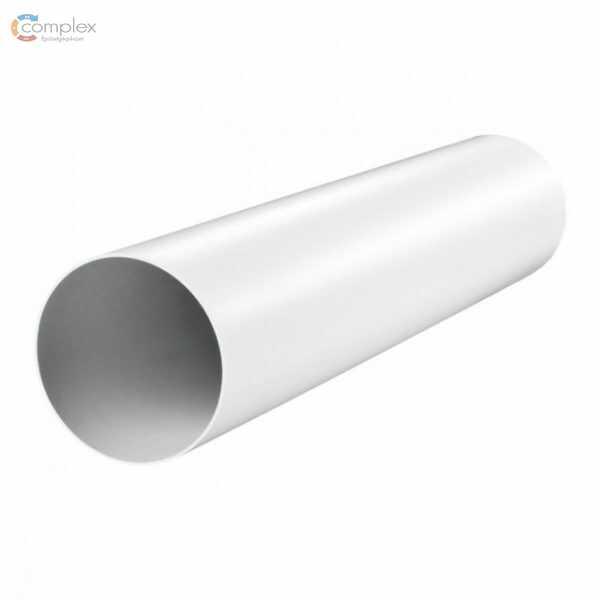 Szellőző, műanyag cső d=100, 0,5m Vents